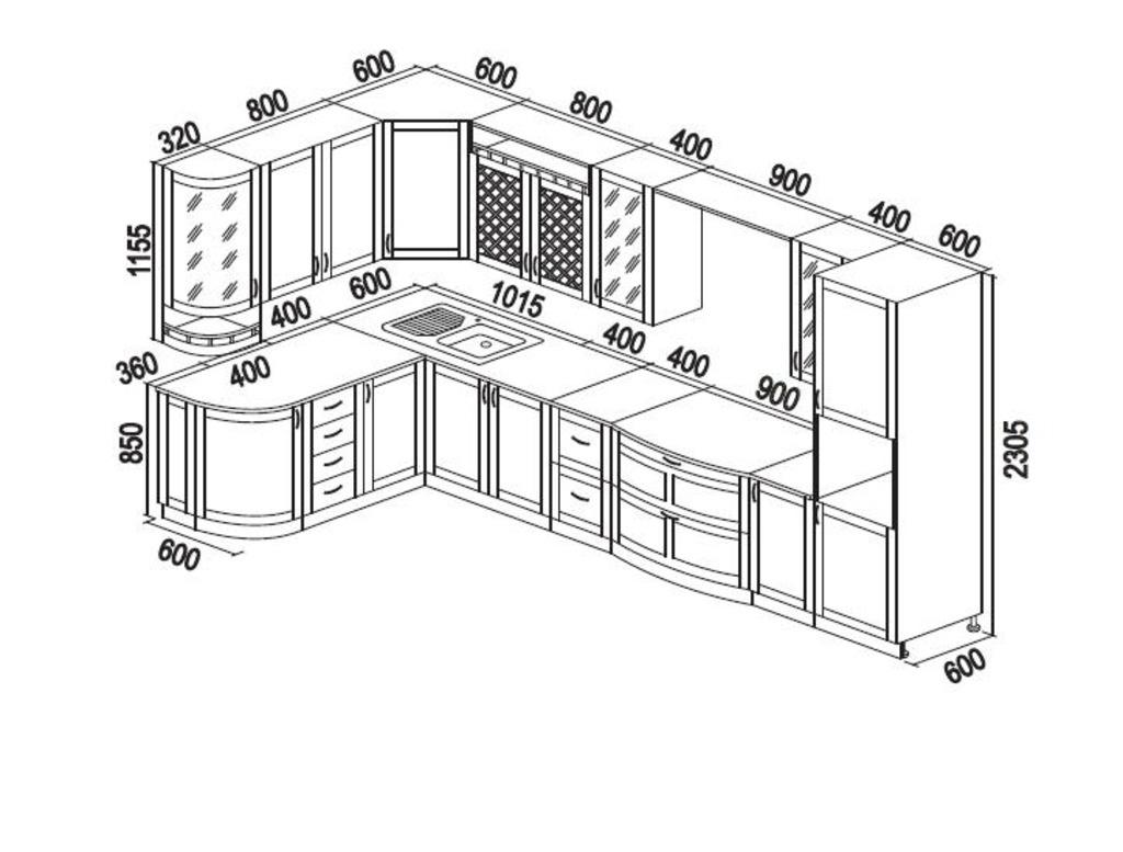 Кухня из дерева своими руками чертежи и схемы фото